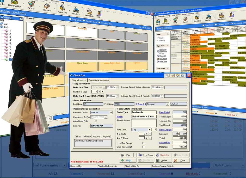 Free Hotel Software - Genuine Free Software for hotels and motels